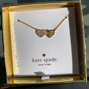 Kate Spade Mom Knows Best Mom Heart necklace!